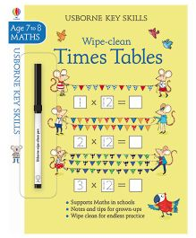 Wipe-clean Times Tables Book - English