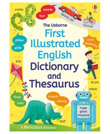 First Illustrated Dictionary And Thesaurus - English