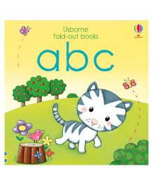 ABC Fold Out Books - English
