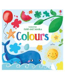 Colours Fold Out Books - English