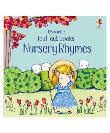 Nursery Rhymes Fold Out Books - English
