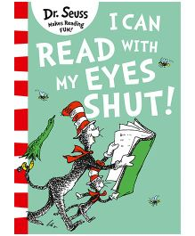 I Can Read With My Eyes Shut - English