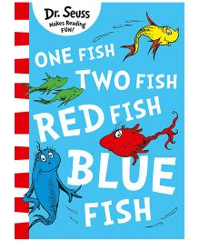 One Fish Two Fish Red Fish Blue Fish Story Book - English
