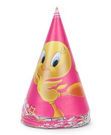 Tweety Paper Hats Pack of 10 - Multicolour