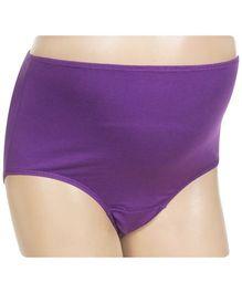 Bodycare - Purple Maternity Panty