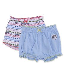 FS Mini Klub Bloomers Pack Of 2 - Blue White