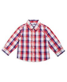 FS Mini Klub Full Check Shirt - Blue Red