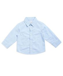 FS Mini Klub Full Plain Shirt - Light Blue