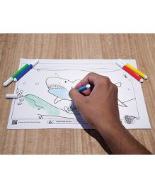 Smartivity Augmented RealityEdge Underwater Adventure Coloring Sheets - Pack Of 6
