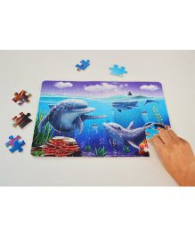 Smartivity Augmented Reality Edge Aquatic Amigos Puzzle - 60 Pieces