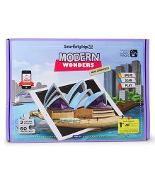 Smartivity Edge Modern Wonders Magic Jigsaw Puzzle - Pack Of 2