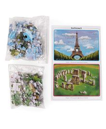 Smartivity Edge Legendary Landmarks Magic Jigsaw Puzzle - 60 Pieces