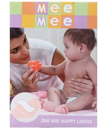 Mee Mee Absorbent Liners For Nappies  100 Pieces