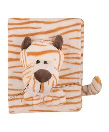 Twisha Nx Tiger Photo Album - Off White Orange