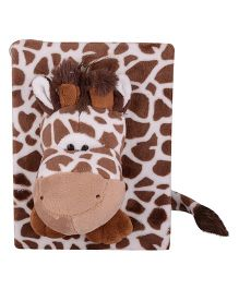Twisha Nx Giraffe Photo Album - White Brown