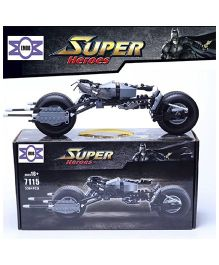 Emob Vehicle Building Blocks Batman Kit Black - 338 Pieces