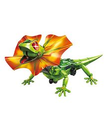 Emob DIY Robotic Frilled Lizard Toy - Green