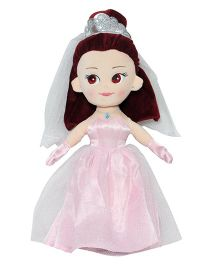 Soft Buddies Wedding Gown Doll Pink - 30 cm