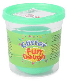 Fun Dough Funskool Glitter Dough - Green
