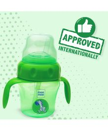 Mee Mee 2 in 1 Spout & Straw Sipper Cup Green - 150 ml