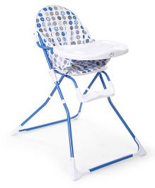 1st Step Baby High Chair - Blue