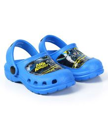 Cutewalk By Babyhug Clogs Dark Knight Design - Blue