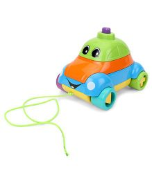 Giggles Funskool Stack A Car - Multicolor