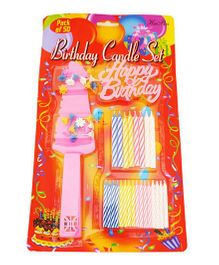 Party AnthemBirthday Cake Accessories - 50 Pieces Set