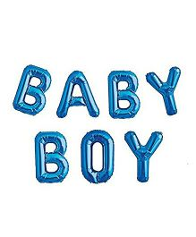Party Anthem Baby Boy Letter Foil Balloon - Blue