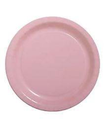 Party Anthem Paper Plates Pack Of 24 - Pink