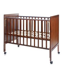 BabyCenter India Baby Howard 500A Cot - Brown
