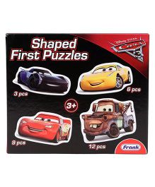 Disney Pixar Cars 3 Jigsaw Shaped Puzzle - 30 Pieces