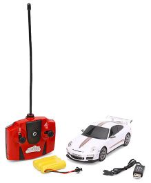 Dash Porsche 911 GT3 RS Remote Controlled Car - White