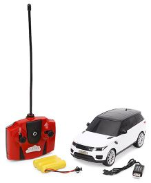 Dash Range Rover Sport Remote Controlled Car - White