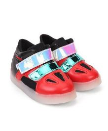 Kidslounge Party Sneakers With LED Lights - Red