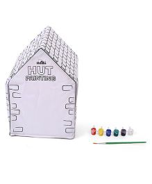 Awals Hut Painting Activity Set - Purple