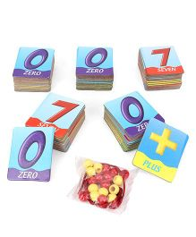 Awals Math Builder Learning Cards Multicolor - 75 Pieces