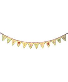 Abracadabra Bunting Sweet Dreams Print - Yellow