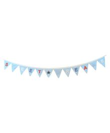 Abracadabra Bunting Sweet Dreams  Print - Blue