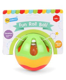Sunny Rattle Roll Ball - Green Multi Color