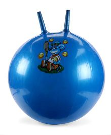 Awals Hopping Ball With Pump Large Blue (Prints May Vary)