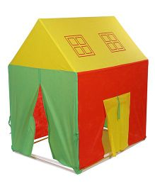 Awals Lucky Light House With Led Light - Red Yellow Green