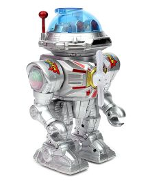 Smiles Creation Multi Function Electric Robot Toy Silver - Height 25 cm
