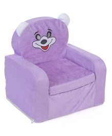 Lovely Smart Kids Sofa Teddy Design -  Light Purple