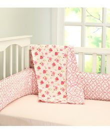 Little West Street La Rose Baby & Toddler Cotton Dohar - Pink