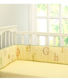 Little West Street Abcs With Gizzie Bumper - Yellow