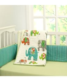 Little West Street Ella Cotton Quilts - Green