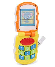Sunny Musical Toy Phone -Yellow Orange
