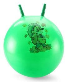 Awals Hopping Ball Large With Pump Green (Prints May Vary)