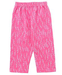 Tango Full Length Printed Lounge Pants - Light Pink